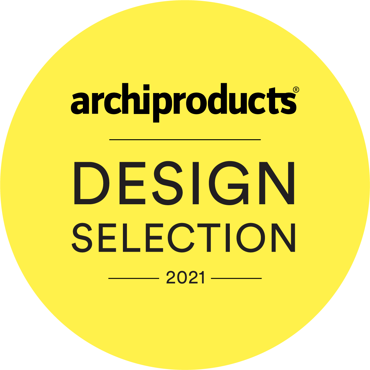 Archiproduct Design Selection badge